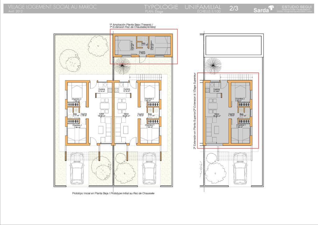 Viviendas prefabricadas en marruecos 2 modulos unifamiliares - Modulos prefabricados para viviendas ...