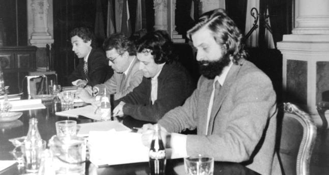 Los tres mosqueteros del PGOU de 1983 de Málaga. La Opinión de Málaga