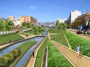 Imagen de la Propuesta de Ordenación del Río Guadalmedina