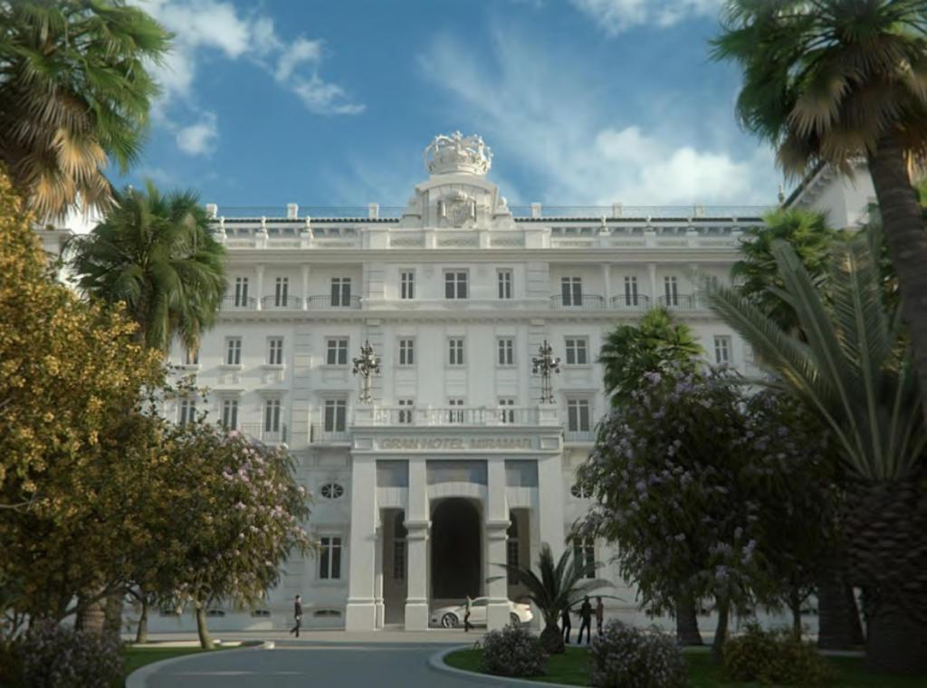Proyecto hotel miramar de m laga de jos segu su for Hotel diseno malaga