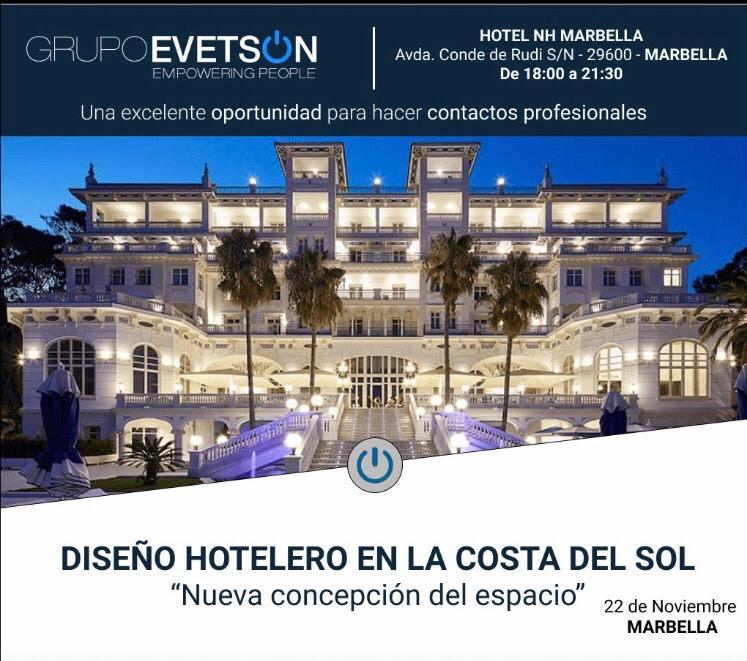 Conferencia sobre Diseño Hotelero en la Costa del Sol